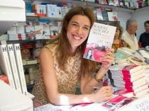 Raquel Sánchez Silva, en la Feria del Libro de Madrid