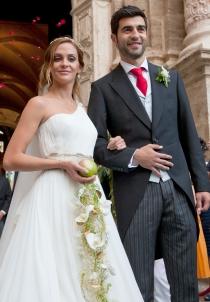 Alicia Roig contrajo matrimonio con Raúl Albiol en 2011