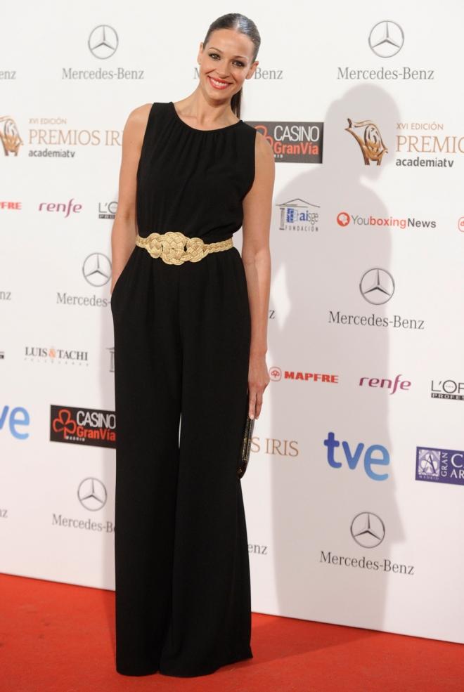 El look de Eva Gonzalez en los Premios Iris 2014