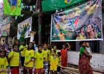 Desde Rio de Janeiro hasta Calcuta, el Mundial se vive al máximo