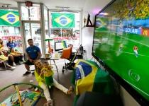 Los brasileños de Estados Unidos, a muerte con su selección