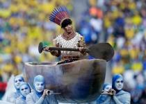 La ceremonia de inauguración fue vista por millones de personas en todo el mundo
