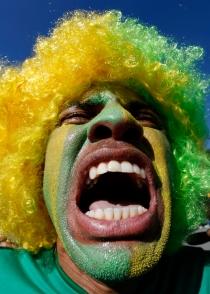El Mundial desata la locura en Brasil