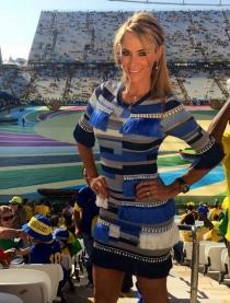 Inés Sainz, reconocida como 'La mujer del deporte'