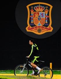 Xavi Hernández, uno de los cuestionados en el Mundial 2014