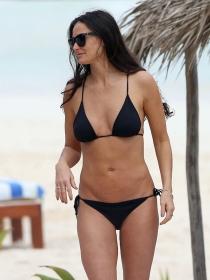La actriz Demi Moore de vacaciones en Méjico