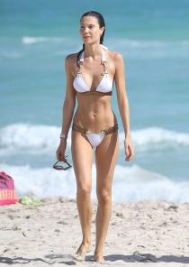 La modelo Julia Pereira en Miami