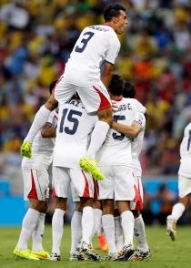 Costa Rica dio la primera sorpresa del Mundial al vencer a Uruguay