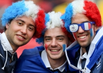 La afición francesa se lo pasó en grande gracias a Benzemá