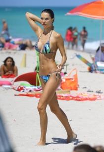 Julia Pereira en Miami de vacaciones
