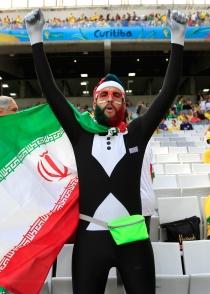 Pese a ser de las peores selecciones del Mundial 2014, Irán tiene afición
