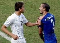 El mordisco de Luis Suárez a Chiellini, la imagen del Mundial