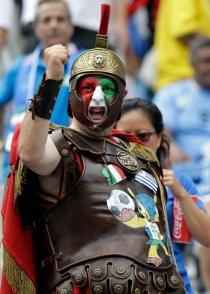 Los gladiadores italianos no pudieron con Uruguay