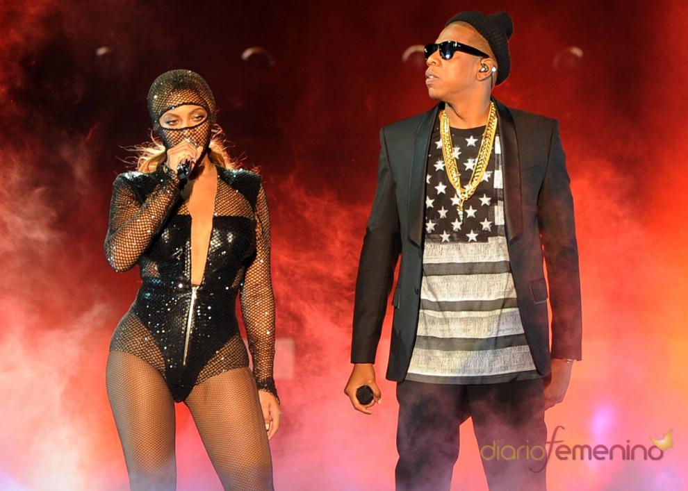 Beyoncé y Jay Z, juntos en su primer show
