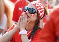 A Suiza no le valió con la animación de sus aficionados para ganar a Argentina