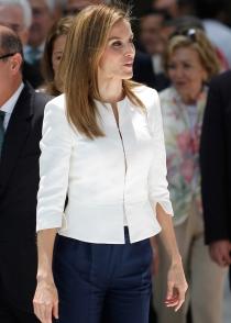 El look de la reina Letizia en la celebración del 150 aniversario de la Cruz Roja