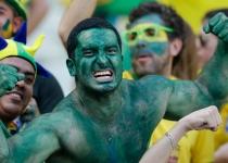 Hulk, presente en las gradas del Brasil Colombia