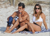Elena Tablada y su novio, Daniel Argita, de vacaciones en Formetera