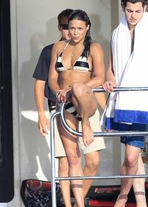 Michelle Rodríguez, de vacaciones en Ibiza