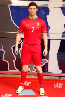 Cristiano Ronaldo tiene dos réplicas de cera
