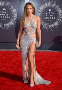 El sensual look de Jennifer Lopez en los MTV VMA 2014