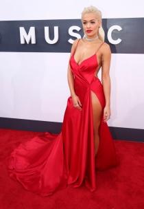 Rita Ora, con el vestido más caliente de los MTV VMA 2014