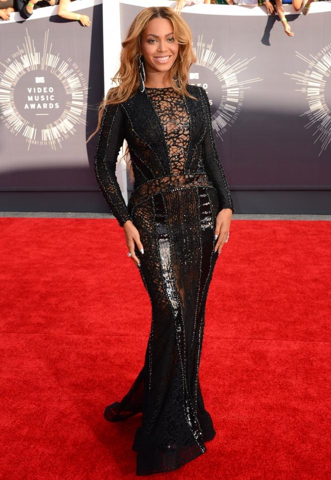 Beyoncé, entre las mejor vestidas de los MTV VMA 2014