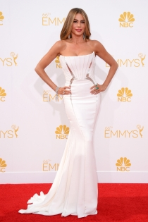 Sofía Vergara, con el vestido más elegante de los Premios Emmy 2014