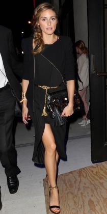El look de Olivia Palermo en la Semana de la Moda de Nueva York