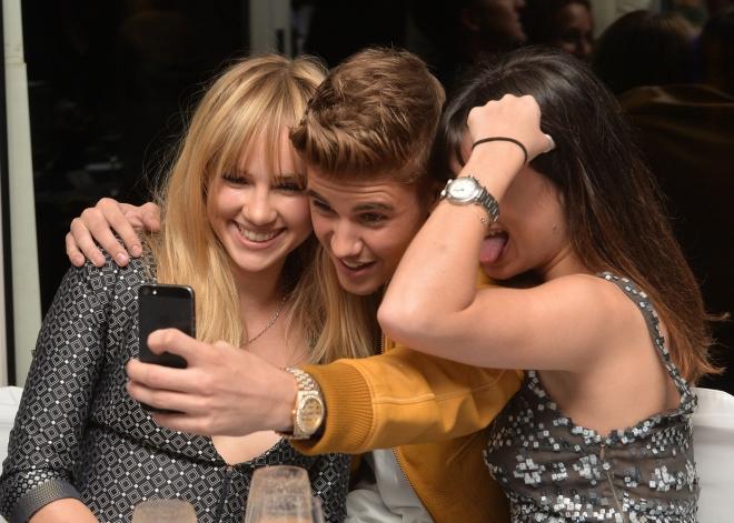 Justin Bieber, el amo de los selfies gracias a su iPhone