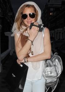 El iPhone de Lindsay Lohan, tan particular como su dueña