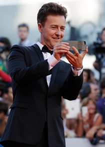 Edward Norton usa su iPhone para grabar momentos únicos