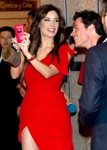 La simpática funda que Pilar Rubio ha elegido para su iPhone