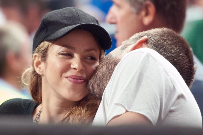Shakira y Piqué, dos enamorados en el Mundial de Baloncesto 2014