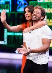 Pablo Alborán y Pilar Rubio, buen rollo en 'El Hormiguero'