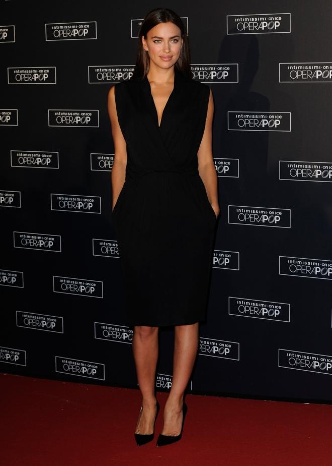 Irina Shayk, la más elegante de Intimissimi