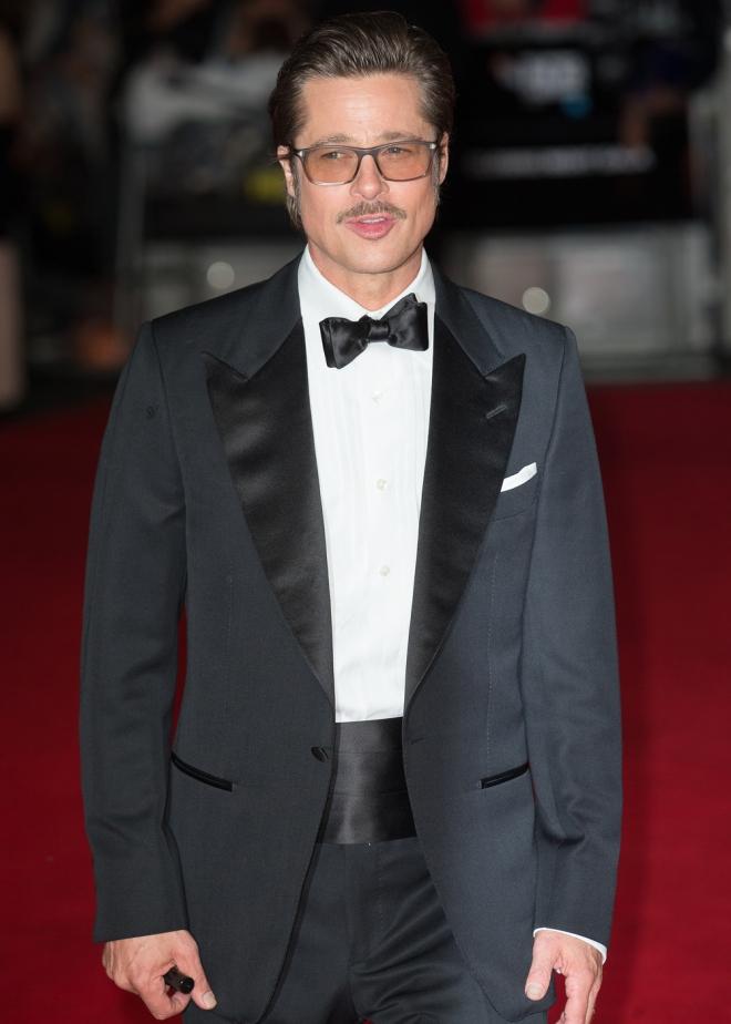 El look de Brad Pitt en el Festival de Cine de Londres