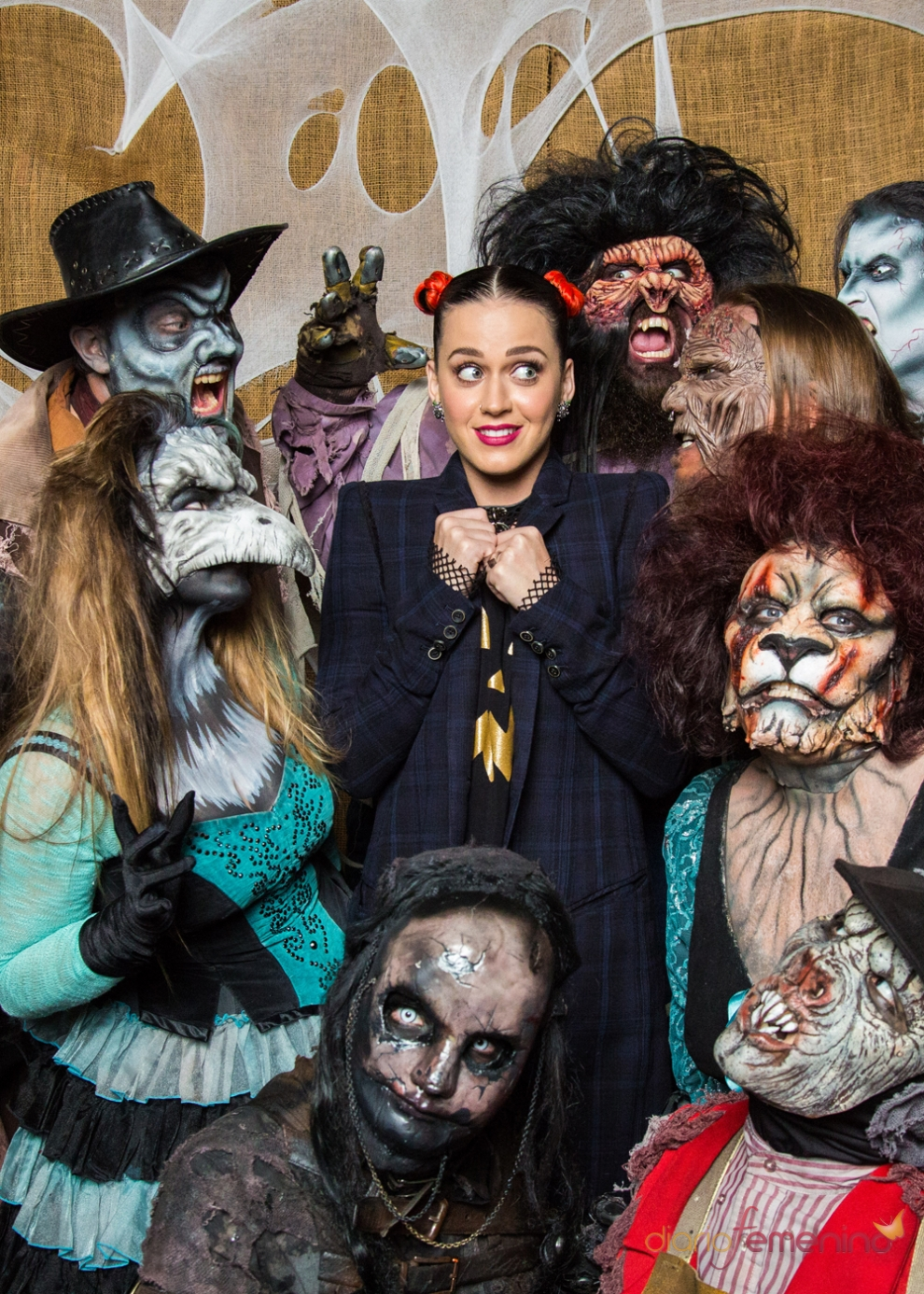 El look de Katy Perry para Halloween 2014