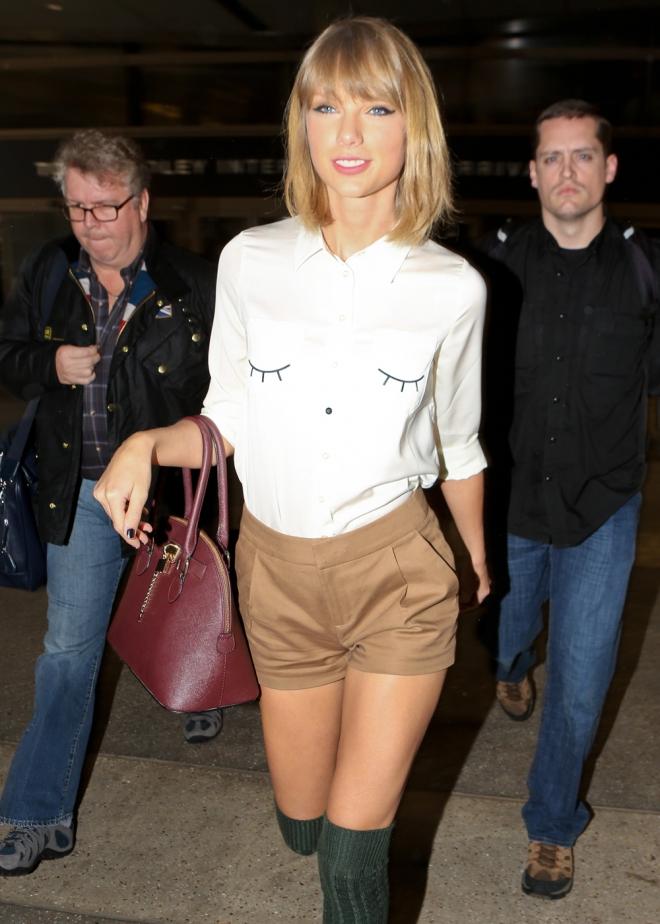 Taylor Swift sí que sabe llevar shorts