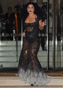 Lady Gaga, la reina de las transparencias.