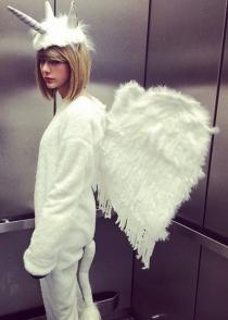 Pegaso, el disfraz de Taylor Swift para Halloween