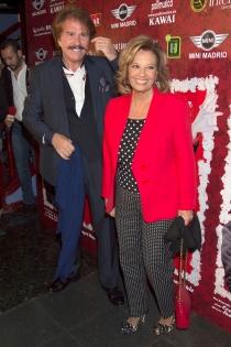 María Teresa Campos y Bigote Arrocet pasearon su amor en público