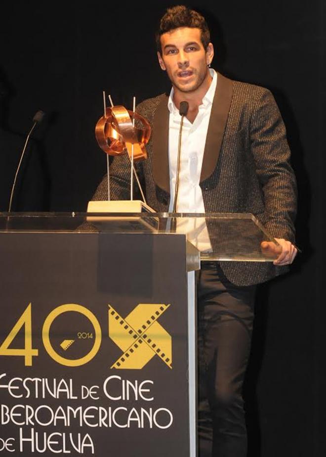 Mario Casas, en la 40 edición del Festival iberoamericano de Huelva
