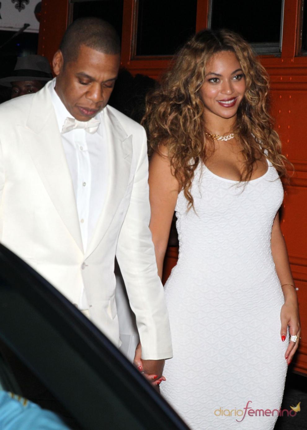 El look de Beyoncé y Jay Z en la boda de la hermana de la cantante