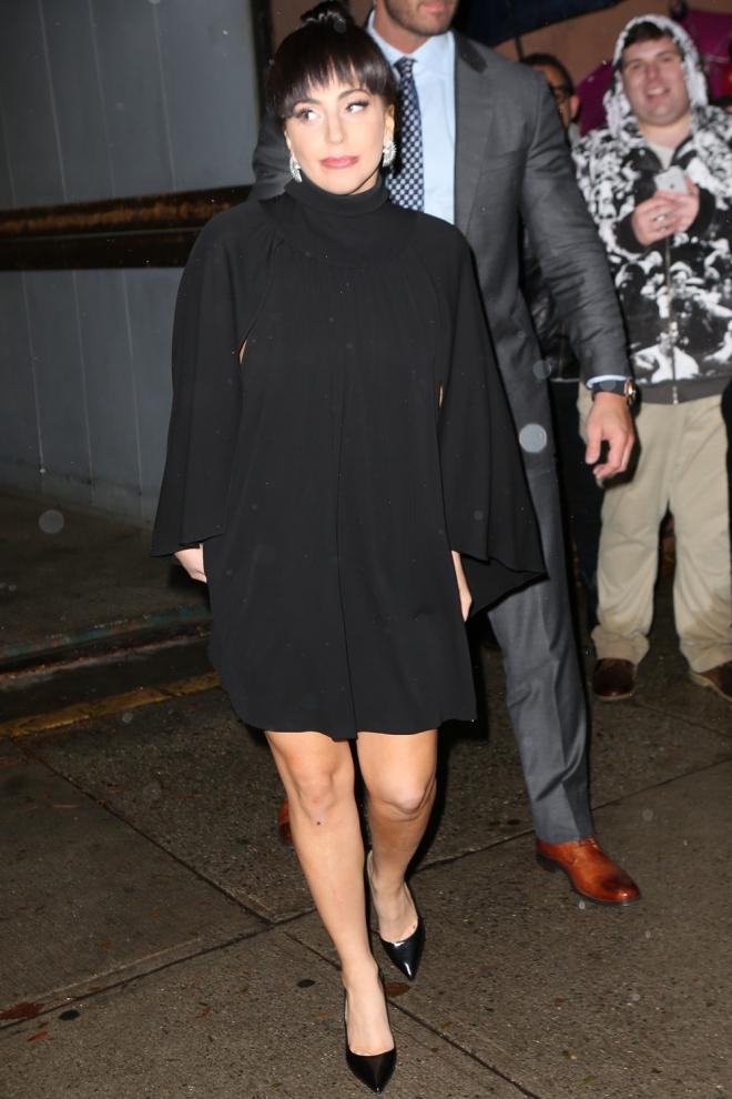 Lady Gaga, increíblemente sencilla