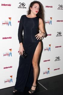 Samira, tronista de MYHYV, en la gala Chica Interviú 2014