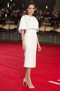 El look de Angelina Jolie, en la presentación de Unbroken