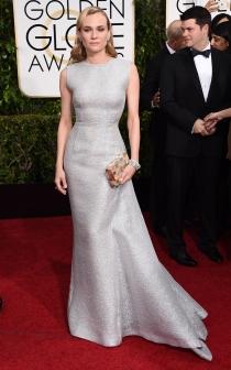 Globos de Oro 2015: Diane Kruger, divina con un Emilia Wickstead
