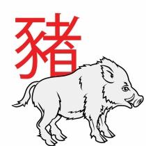 El signo del jabalí en el horóscopo chino