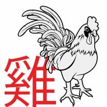 El signo del gallo en el horóscopo chino